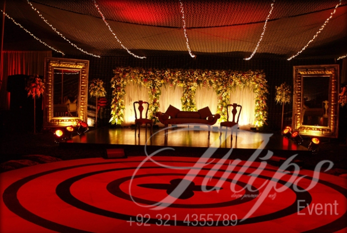 Stage Decoration Pakistan Wedding Planners